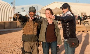 Kathryn Bigelow directing Zero Dark Thirty