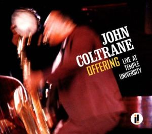 Coltrane at Temple cover